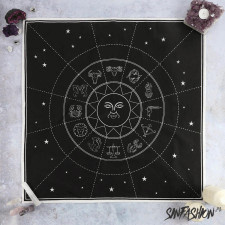 Serwetka black decor star sign