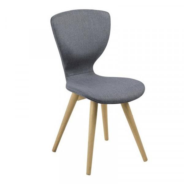 Krzesło ginti szare skandynawskie