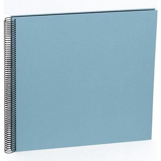 Album na zdjęcia uni economy czarne karty duży błękitny