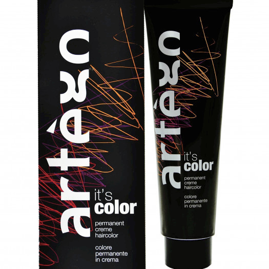 Artego it's color farba w kremie 150ml cała paleta kolorów 3.16 - 3ar ciemny popielato-czerwony brąz