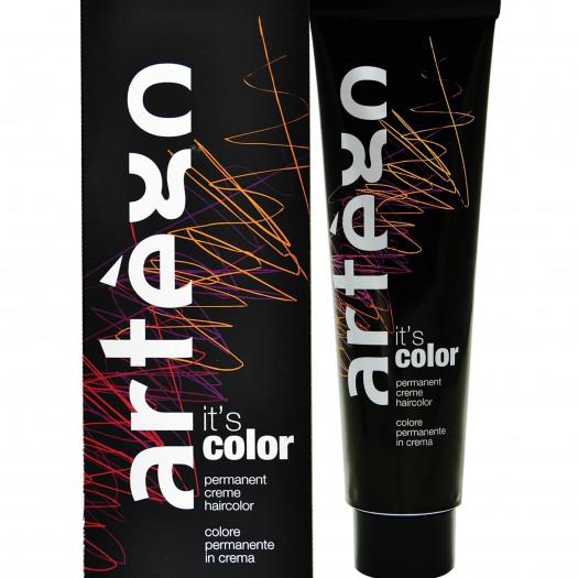 Artego it's color farba w kremie 150ml cała paleta kolorów 9.7 - 9m bardzo jasny blond tytoniu kentu