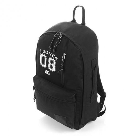 Czarny plecak szkolny młodzieżowy na laptopa