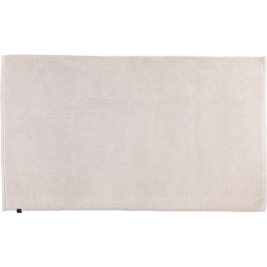Dywanik łazienkowy loop 60 x 100 cm beżowy