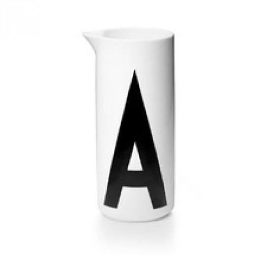 Dzbanek a aqua design letters