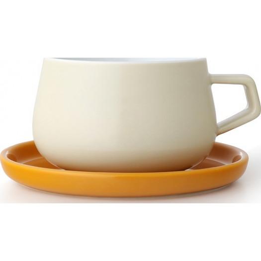 Filiżanka do herbaty ella kremowa