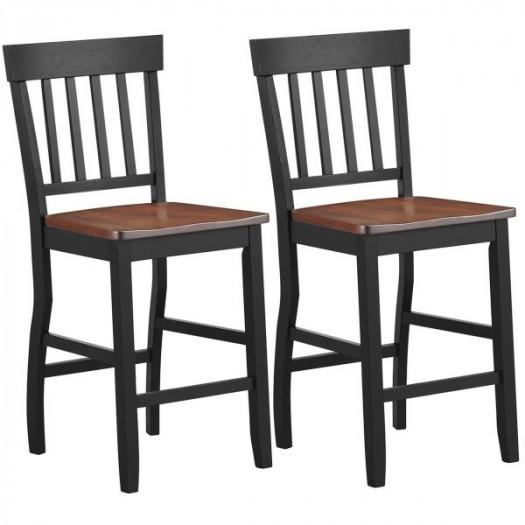 Krzesła z oparciem zestaw 2 szt.