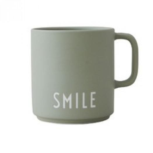 Kubek favourite smile design letters