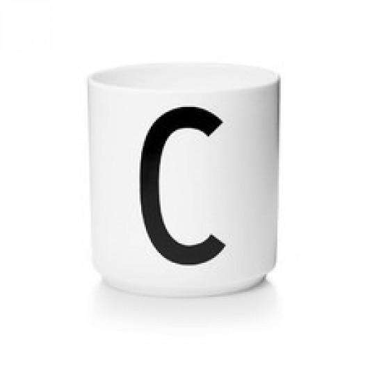 Kubek porcelanowy litera c design letters