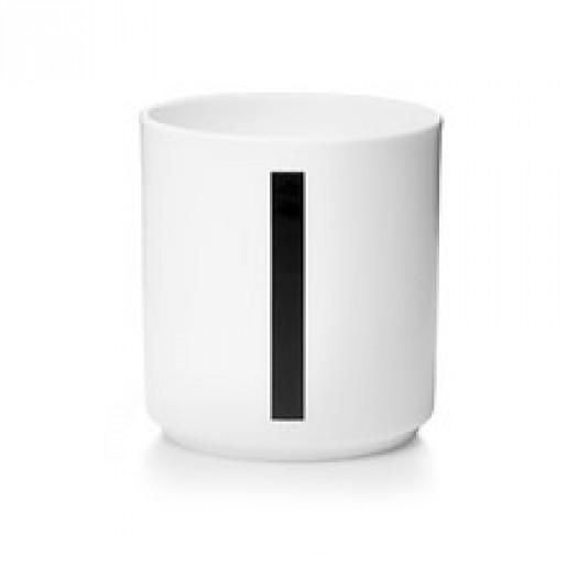 Kubek porcelanowy litera i design letters