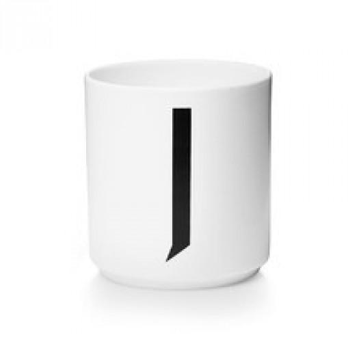Kubek porcelanowy litera j design letters