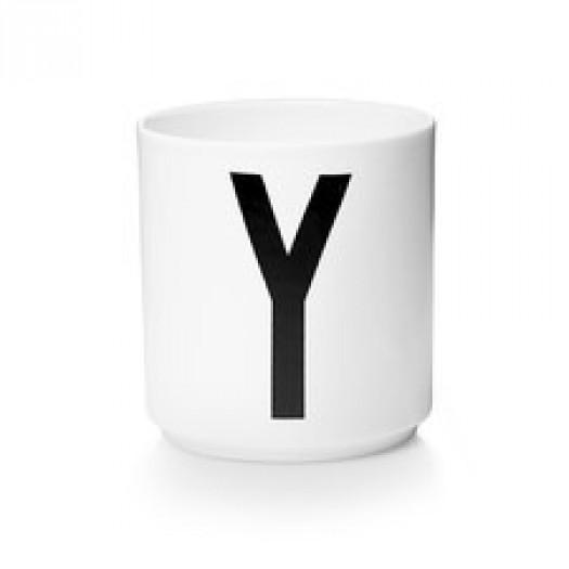 Kubek porcelanowy litera y design letters