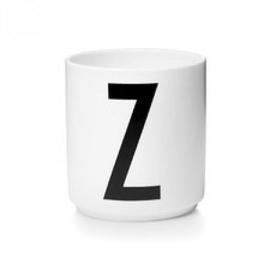 Kubek porcelanowy litera z design letters