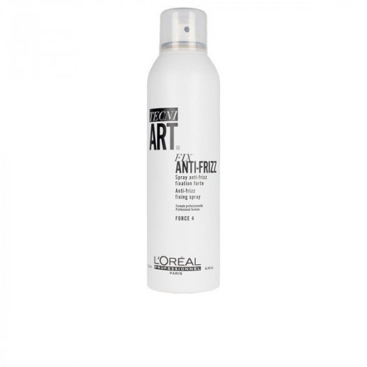 Lakiero do włosów tecni art fix anti-frizz l'oréal paris spray wygładzający (250 ml)