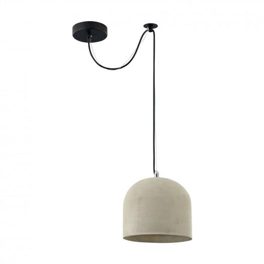 Lampa betonowa wisząca nad stolik broni maytoni loft (t451-pl-01-gr)