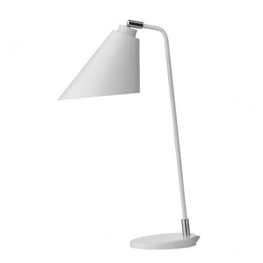 Lampa stołowa biała bloomingville