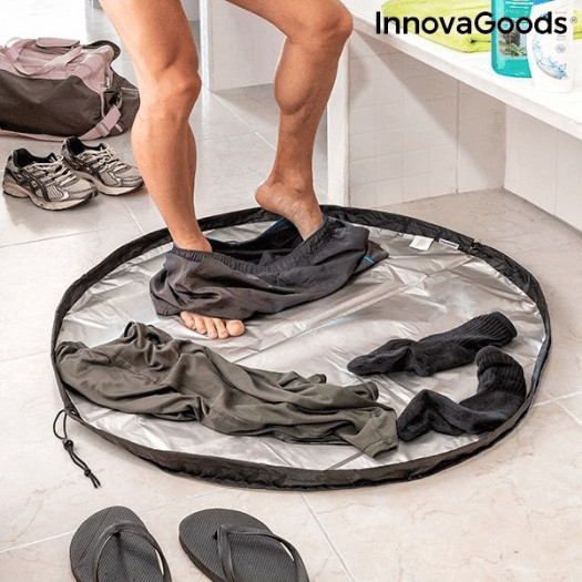 Mata do szatni i wodoodporna torba 2 w 1 gymbag innovagoods