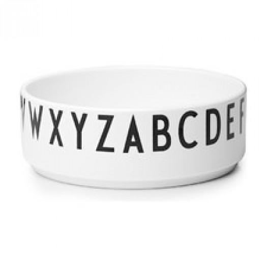 Miska porcelanowa aj design letters