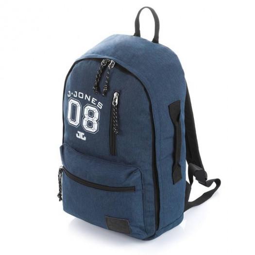 Młodzieżowy niebieski plecak szkolny na laptopa