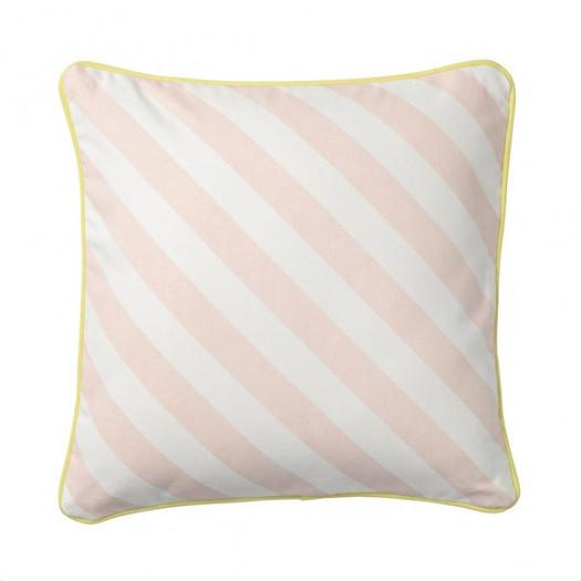 Poduszka różowe paski bloomingville