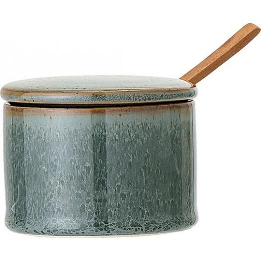 Pojemnik kuchenny pixie 200 ml zielony z łyżeczką