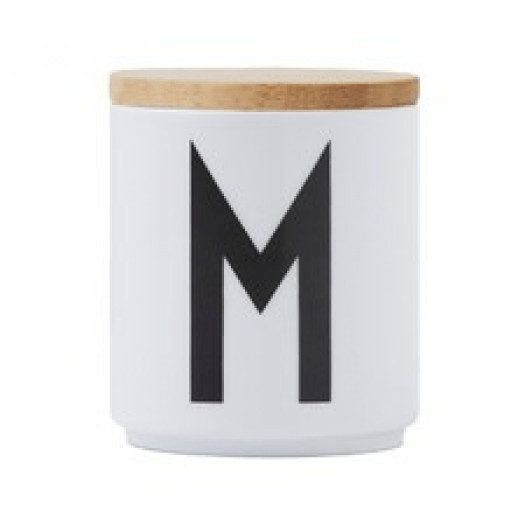 Pokrywka do kubka porcelanowego design letters