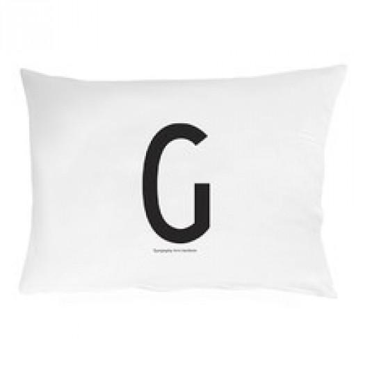 Poszewka na poduszkę litera g design letters