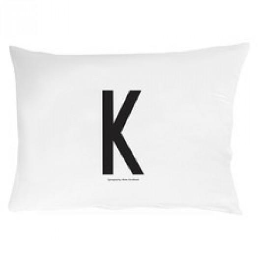 Poszewka na poduszkę litera k design letters