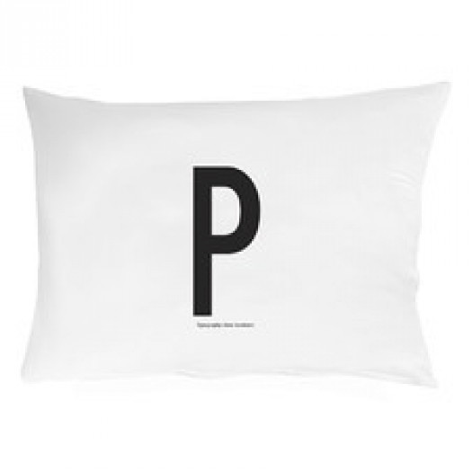 Poszewka na poduszkę litera p design letters