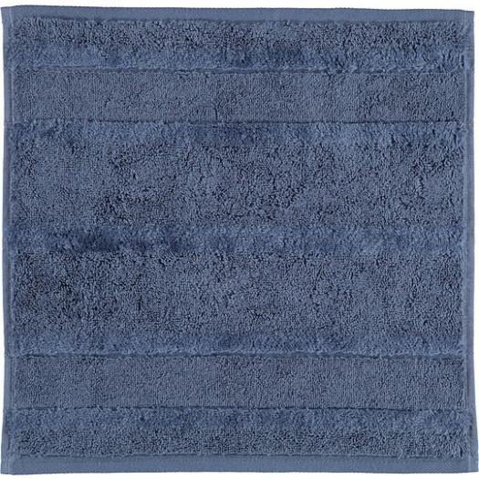 Ręcznik noblesse ii gładki 30 x 30 cm ciemnoniebieski