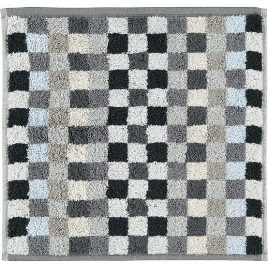Ręcznik unique szachownica 30 x 30 cm antracytowy