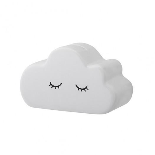 Skarbonka biała chmurka bloomingville