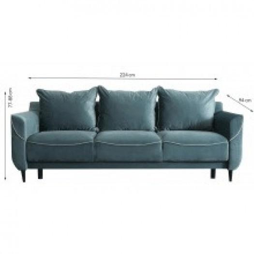 Sofa trzyosobowa ann nowoczesna rozkładana