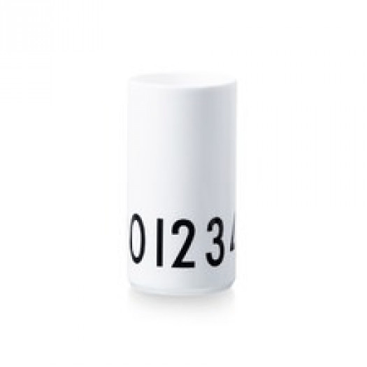 Wazon biały 0-9 small design letters