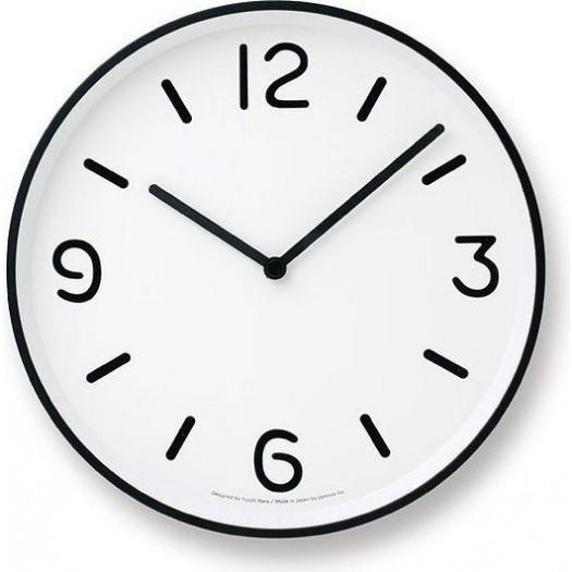 Zegar ścienny mono clock biały