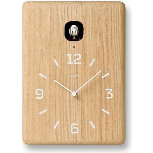 Zegar ścienny z kukułką cucu jasne drewno